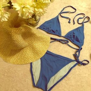 Victoria's Secret Blue String Bikini👙